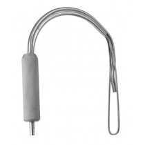 BIGGS MAMMAPLASTY RETRACTOR, WITH FIBER OPTIC LIGHT GUIDE, NARROW, 3.0 CM BLADE WIDTH, 15 CM LENGTH
