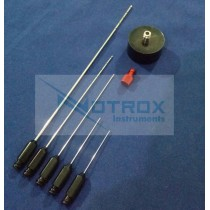Micro Fat Injection Cannulas Set