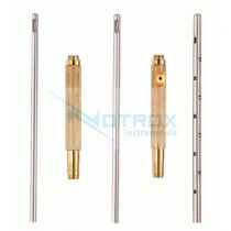 Liposuction Cannula Set for Face with Threaded Fitting